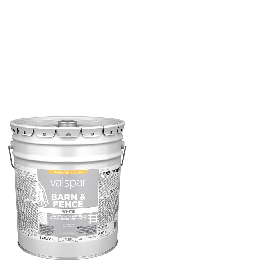 Shop valspar 5 gallon size container exterior satin porch for Exterior paint satin 5 gal