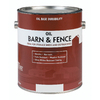 Valspar Barn and Fence Black Gloss Oil-Based Exterior Paint (Actual Net Contents: 128-fl oz)