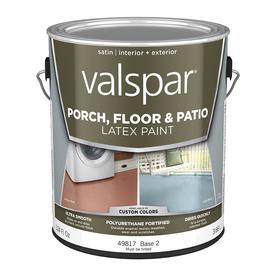 Valspar Base 2 Satin Latex Interior/Exterior Paint (Actual Net Contents: 124-fl oz)