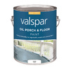 Valspar White Gloss Oil-Based Interior/Exterior Paint (Actual Net Contents: 128-fl oz)
