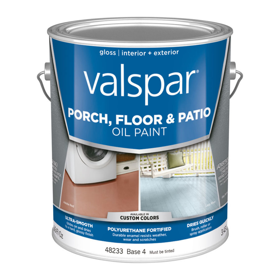 Shop Valspar Exterior Gloss Porch And Floor Tintable