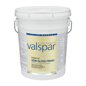 Valspar Ultra Premium 5-Gallon Interior Semi-Gloss Tintable Latex-Base Paint