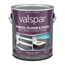Valspar Dark Gray Satin Latex Interior/Exterior Paint (Actual Net Contents: 128-fl oz)