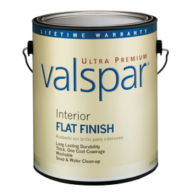 Valspar Ultra Premium Gallon Interior Flat Tintable Paint