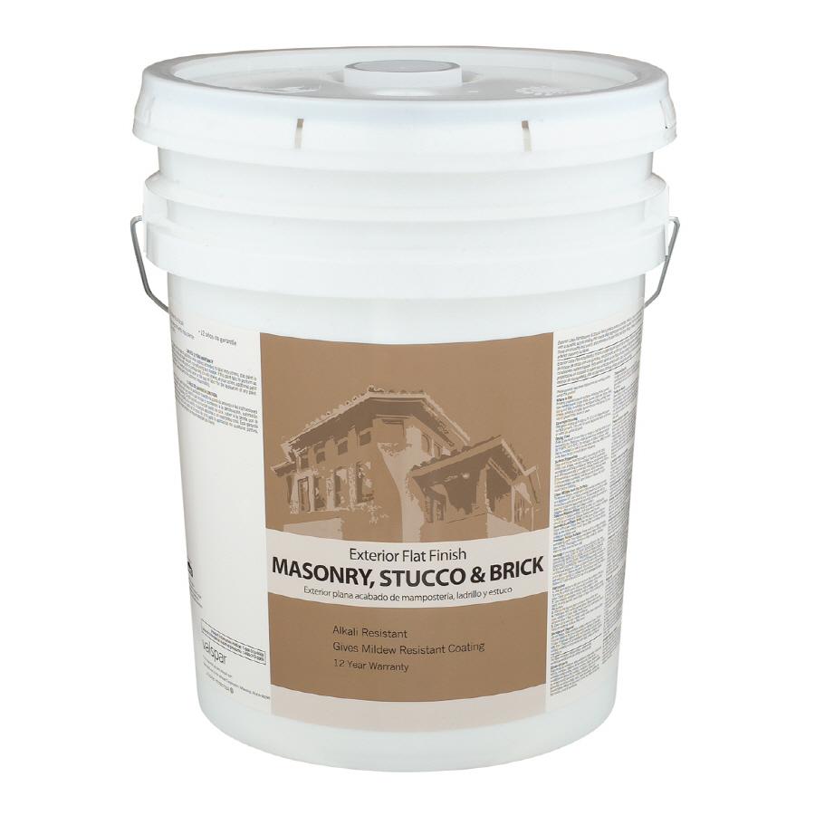 shop enterprise 5 gallon exterior flat tintable latex base paint at