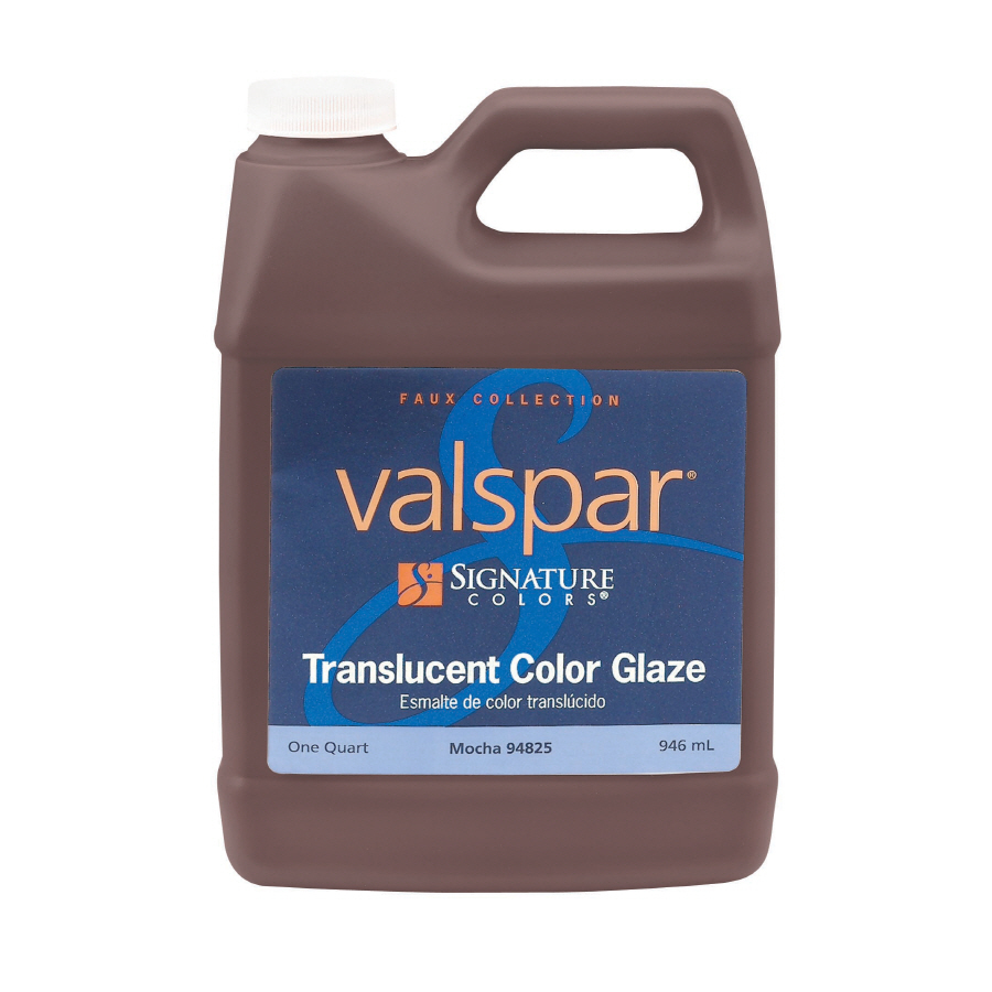 Shop Valspar Signature Colors Quart Size Container Interior Eggshell Mocha Latex Base Paint