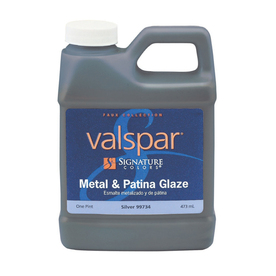Valspar Signature Colors Pint Size Container Interior Satin Silver Latex-Base Paint (Actual Net Contents: 16-fl oz)