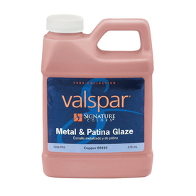 Valspar Signature Colors Pint Size Container Interior Satin Copper Latex-Base Paint (Actual Net Contents: 16-fl oz)