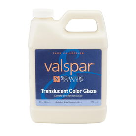 Valspar Signature Colors Quart Interior Satin Golden Opal Paint