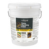 Valspar White Flat Latex Interior/Exterior Paint (Actual Net Contents: 640-fl oz)