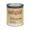 Valspar Ultra Quart Exterior Semi-Gloss White Paint