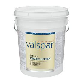 Valspar Ultra Premium 5-Gallon Interior Eggshell Ultra White Latex-Base Paint