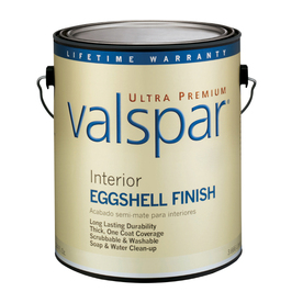 Valspar Ultra Premium Gallon Interior Eggshell Tintable Paint