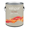 Valspar Ultra Gallon Exterior Flat White Paint and Primer in One