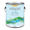 Valspar Ultra Gallon Interior/Exterior High-Gloss Ultra White Paint