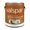 Valspar Gallon Exterior Flat Paint
