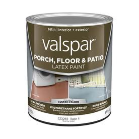 Shop Valspar Tintable Satin Latex Interior Exterior Paint Actual Net Contents 29 Fl Oz At