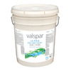 Valspar Ultra White Flat Latex Interior Paint and Primer in One (Actual Net Contents: 640-fl oz)