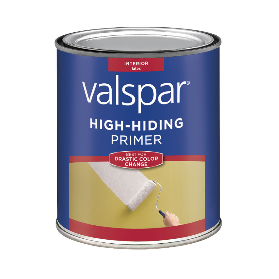 Shop Valspar 1 Quart Interior Latex Primer At