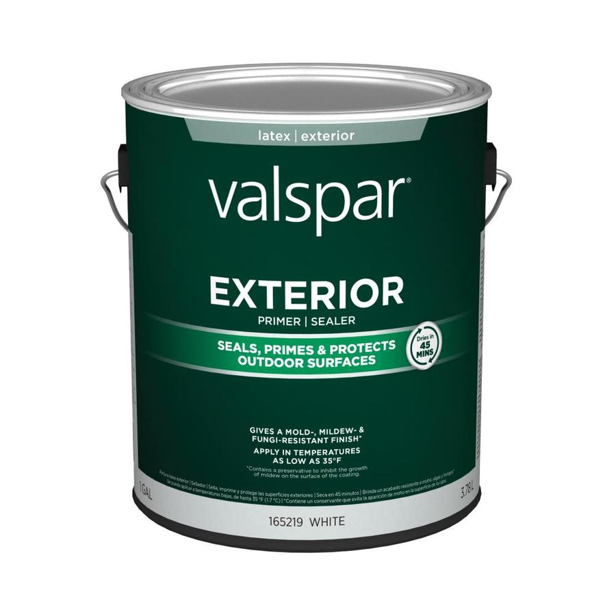 Shop Valspar 1 Gallon Exterior Latex Primer At
