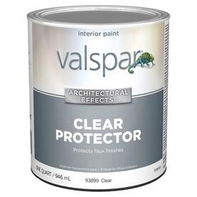 Valspar Signature Colors Quart Interior Satin Clear Paint