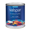 Valspar Signature Signature White Matte Latex Interior Paint and Primer In One (Actual Net Contents: 29-fl oz)