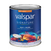 Valspar Signature Signature White Semi-Gloss Latex Interior Paint and Primer In One (Actual Net Contents: 29-fl oz)