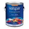 Valspar Signature Signature White Semi-Gloss Latex Interior Paint and Primer in One (Actual Net Contents: 116-fl oz)