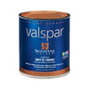 Valspar Signature Colors White Satin Latex Interior Paint and Primer In One (Actual Net Contents: 32-fl oz)