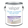 Valspar Ultra Premium Gallon Interior Flat Ceiling White Paint and Primer in One