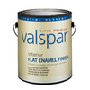Valspar Ultra Premium Gallon Interior Flat Enamel White Paint