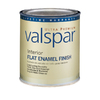 Valspar Ultra Premium Quart Interior Flat Enamel Ultra White Paint