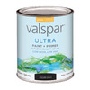 Valspar Ultra Quart Interior/Exterior High-Gloss Black Paint