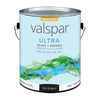 Valspar Ultra Gallon Interior/Exterior High-Gloss Black Paint