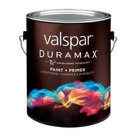 Valspar Duramax Duramax White Satin Latex Exterior Paint (Actual Net Contents: 128-fl oz)