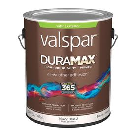 Valspar Duramax Duramax Base 2 Satin Latex Exterior Paint (Actual Net Contents: 124-fl oz)