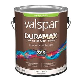 Valspar Duramax Duramax Base 4 Satin Latex Exterior Paint (Actual Net Contents: 116-fl oz)