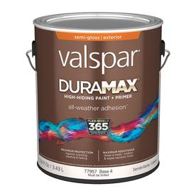 Valspar Duramax Duramax Base 4 Semi-Gloss Latex Exterior Paint (Actual Net Contents: 116-fl oz)