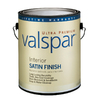 Valspar Ultra Premium Gallon Interior Satin Ultra White Paint