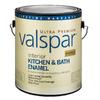 Valspar Ultra Premium 1-Gallon Interior Soft-Gloss Kitchen and Bath Ultra White Latex-Base Paint