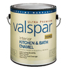 Valspar Ultra Premium Gallon Interior Soft-Gloss Kitchen and Bath Tintable Paint