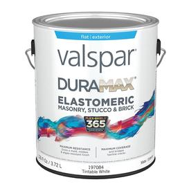 Valspar Elastomeric Masonry And Stucco Exterior Flat Tintable Tintable Latex Base Paint And