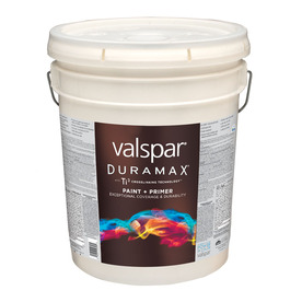 Shop Valspar Duramax Duramax Exterior Flat Tintable White Latex Base Paint And Primer In One