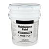 Valspar 5 Gallon Size Container Interior Flat White Latex-Base Paint (Actual Net Contents: 640-fl oz)