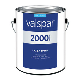 Valspar Contractor Finishes 2000 3.75-Quart Interior Flat White Paint