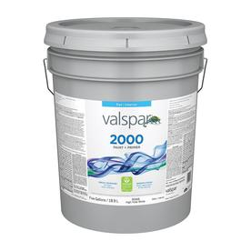 Valspar Contractor Finishes 2000 Ultra 2000 High Hide White Flat Latex Interior Paint (Actual Net Contents: 640-fl oz)