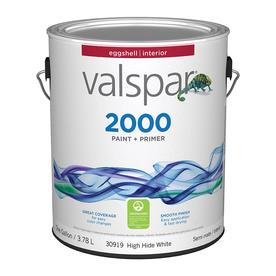 Valspar Contractor Finishes 2000 Gallon Interior Eggshell White Paint