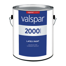 Valspar Contractor Finishes 2000 3.75-Quart Interior Eggshell White Paint