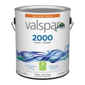 Valspar Contractor Finishes 2000 Ultra 2000 Pastel Base Semi-Gloss Latex Interior Paint (Actual Net Contents: 124-fl oz)