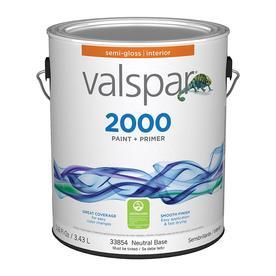 Valspar Contractor Finishes 2000 Ultra 2000 Neutral Base Semi-Gloss Latex Interior Paint (Actual Net Contents: 116-fl oz)